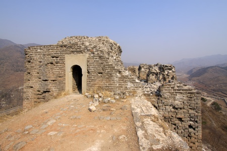 the original ecology of the great wall pass in north china Stock Photo - 13622672