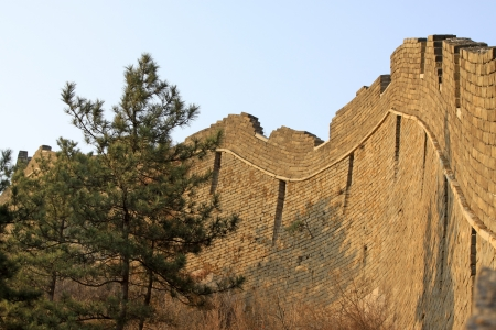 the original ecology of the great wall pass in north china Stock Photo - 13622720
