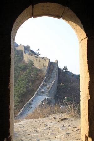 the original ecology of the great wall pass in north china Stock Photo - 13622676