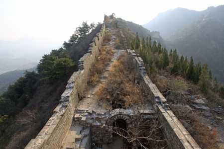the original ecology of the great wall pass in north china Stock Photo - 13622689