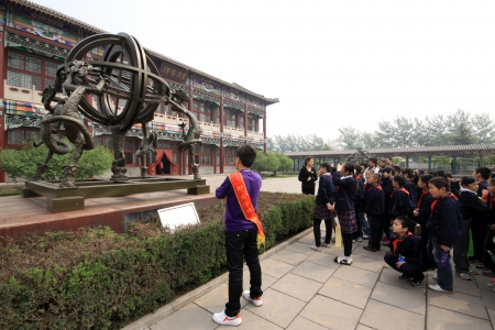 architectural style: ancient Chinese traditional architectural style, north china
