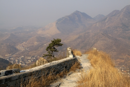 the original ecology of the great wall pass in north china Stock Photo - 14443003