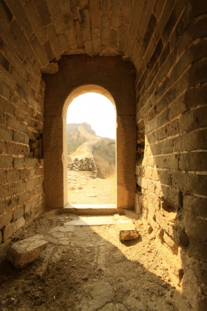 the original ecology of the great wall pass in north china Stock Photo - 14443006