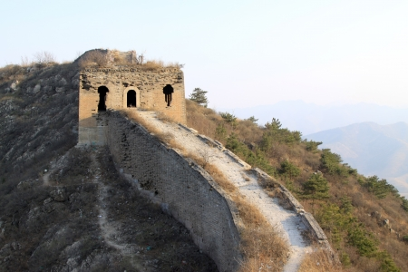 the original ecology of the great wall pass in north china Stock Photo - 15190581