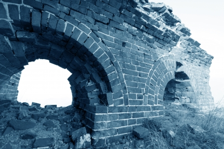 the original ecology of the great wall pass in north china Stock Photo - 15144879