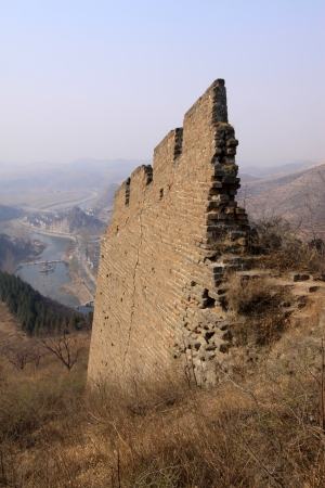 the original ecology of the great wall pass in north china Stock Photo - 15144922