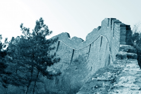 the original ecology of the great wall pass in north china Stock Photo - 15144949