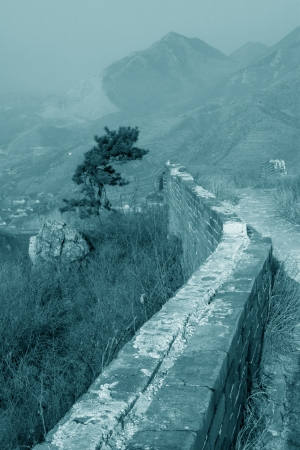the original ecology of the great wall pass in north china Stock Photo - 15144890