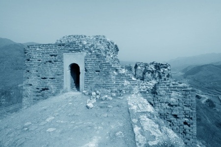 the original ecology of the great wall pass in north china Stock Photo - 15304824