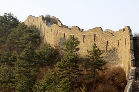 the original ecology of the great wall pass in north china Stock Photo - 15304830
