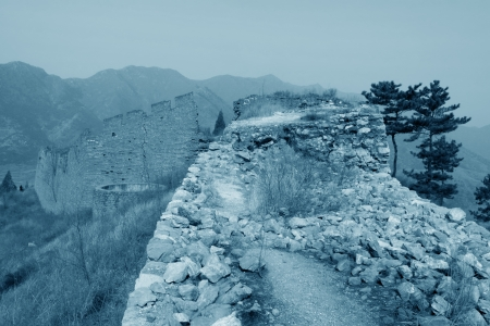 the original ecology of the great wall pass in north china Stock Photo - 15810955