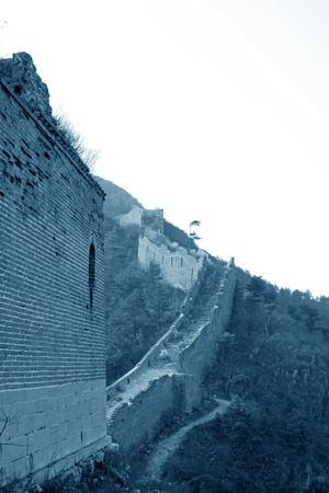 the original ecology of the great wall pass in north china Stock Photo - 15811062