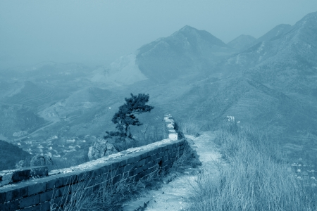 the original ecology of the great wall pass in north china Stock Photo - 15810950