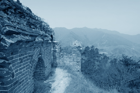the original ecology of the great wall pass in north china Stock Photo - 17126917