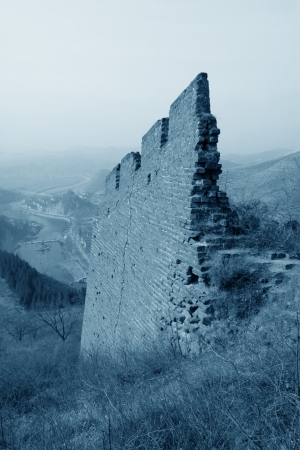 the original ecology of the great wall pass in north china Stock Photo - 17126959