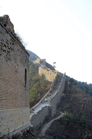 the original ecology of the great wall pass in north china Stock Photo - 17120713