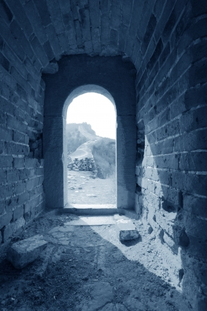 the original ecology of the great wall pass in north china Stock Photo - 17126908