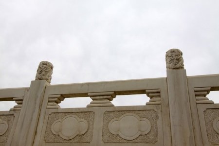 white marble: white marble Bridges baluster, north china