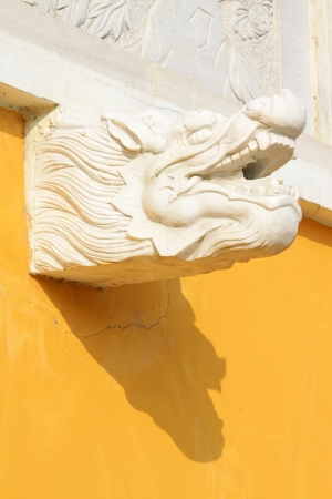 white marble: white marble railings, ancient Chinese traditional architectural landscape
