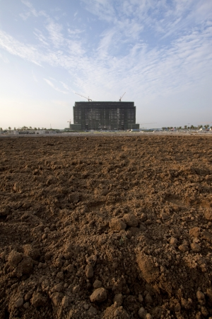 unfinished building: land and the unfinished building, China