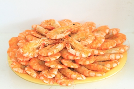 aquatic products: a very delicious food - dried shrimp