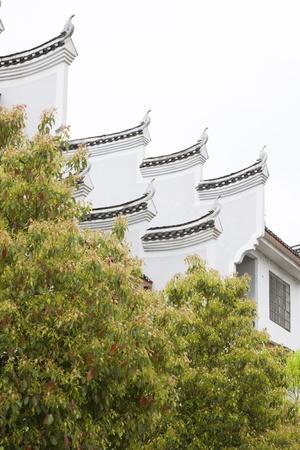 ead: Phoenix County, April 15: Horse head wall on April 15, 2012, Phoenix County, Hunan Province, China Stock Photo