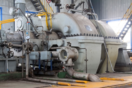 north china: blast furnace TRT Unit in a power plant, north china