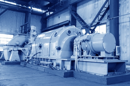 blast furnace TRT Unit in a power plant, north china Stock Photo - 19107428