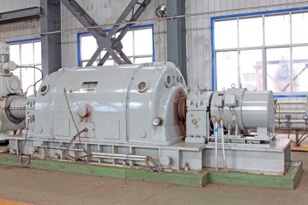 blast furnace TRT Unit in a power plant, north china Stock Photo - 19107409