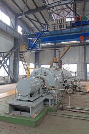 blast furnace TRT Unit in a power plant, north china Stock Photo - 19107387