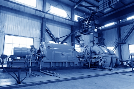 blast furnace TRT Unit in a power plant, north china Stock Photo - 19107394