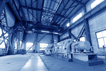 blast furnace TRT Unit in a power plant, north china Stock Photo - 19107405