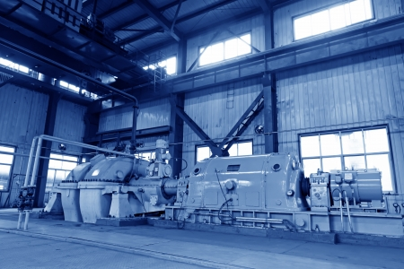 blast furnace TRT Unit in a power plant, north china Stock Photo - 19107391