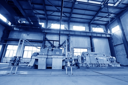 blast furnace TRT Unit in a power plant, north china Stock Photo - 19107406