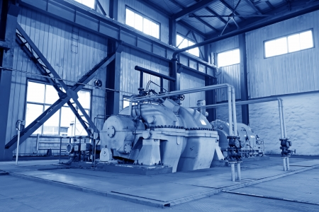 blast furnace TRT Unit in a power plant, north china Stock Photo - 19107400