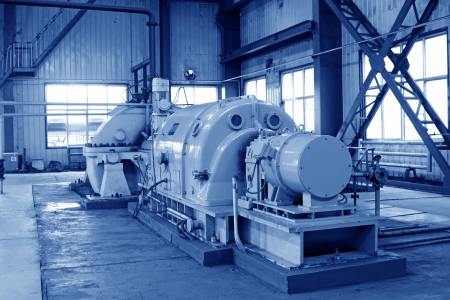 blast furnace TRT Unit in a power plant, north china photo