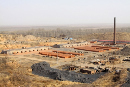 brick kiln: clay brick kiln production enterprises in North China