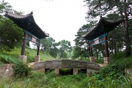 traditional arches in ancient chinese garden north china stock photo picture and royalty free image image 19585013 - North China Garden