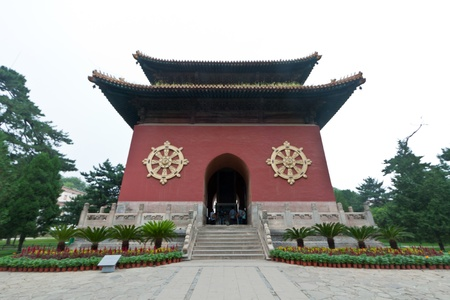 Tibetan Architecture in Putuo Temple of cases, Chengde, Mountain Resort, north china