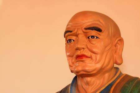 closeup of buddhism bodhisattva statues in a temple, north china  photo