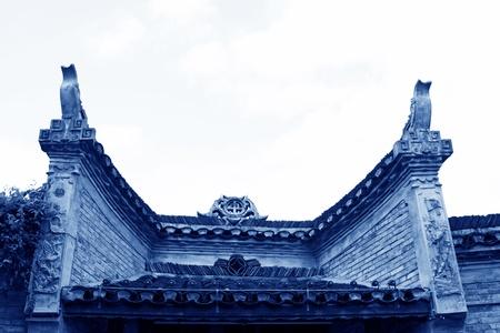 Phoenix County, April 15  Miao ethnic minority roof building landscape on April 15, 2012, Phoenix County, Hunan Province, China 新闻类图片