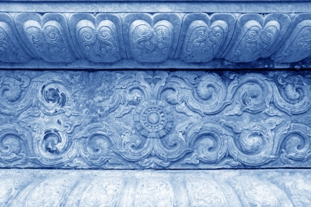 Zunhua, Stone carving on walls in the Eastern Royal Tombs of the Qing Dynasty, Zunhua City, Hebei Province, china  Stock Photo - 20009175