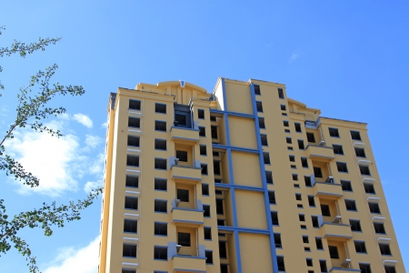 High rise building under the blue sky, in a city, north china Stock Photo - 20050052
