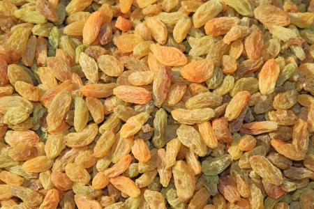 atrophy: pile of raisins, delicious snacks, closeup of photo