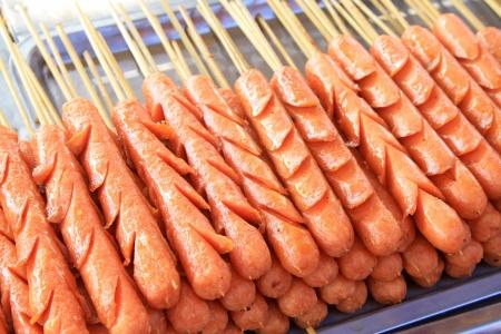 characteristics: Characteristics  food -- fried ham, closeup of delicacy