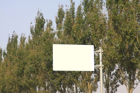 Mileage sign on the side of the road in china  photo