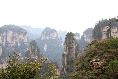 hunan: TianZi Mountain natural scenery, Zhangjiajie City, Hunan, China