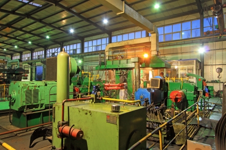 Atelier de production d'acier de la bande lamin?e ? chaud Éditoriale