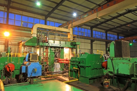 Hot rolled strip steel production workshop