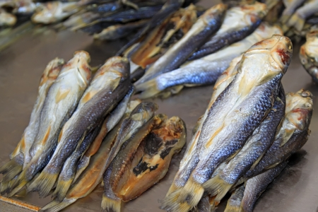 aquatic products: a very delicious food - dried fish